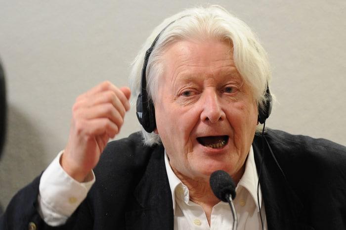 Scottish journalist Andrew Jennings.
