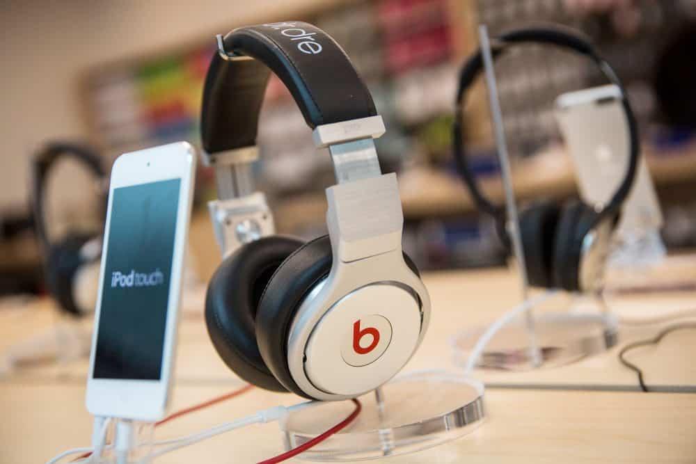 Beats headphones.