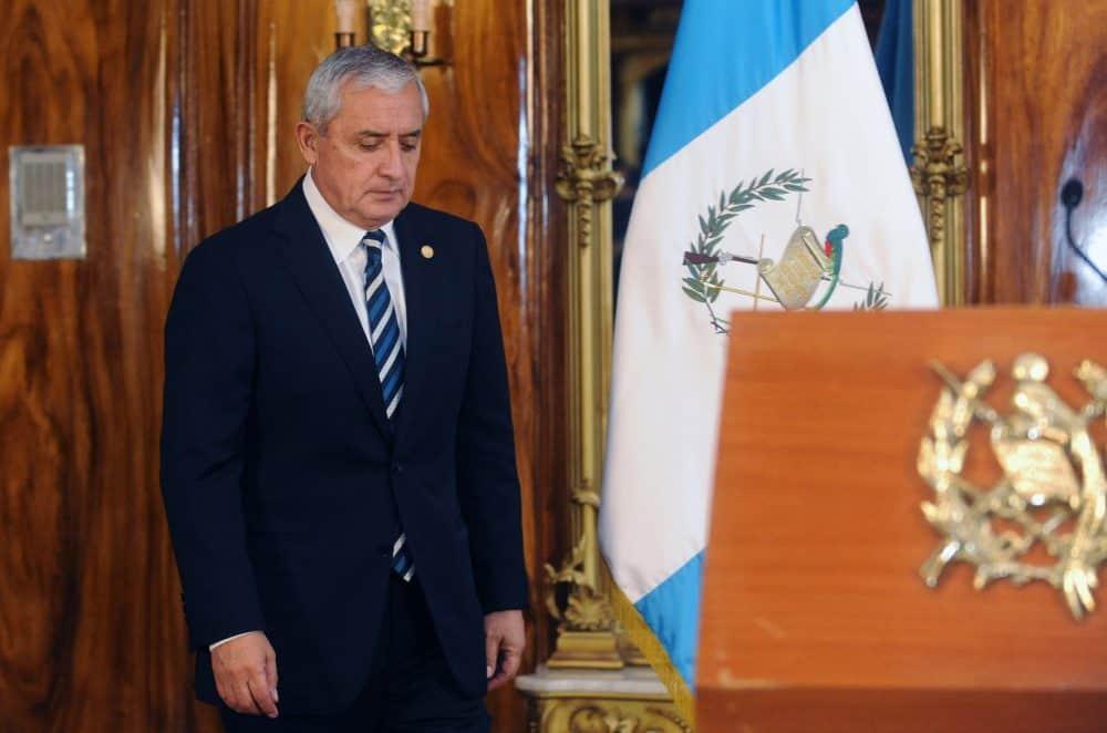 Embattled Guatemalan President Otto Pérez Molina.