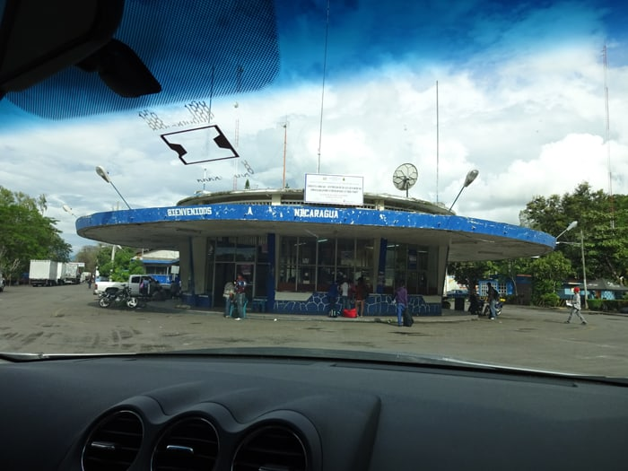 Welcome to the Nicaragua border — we're like the Honduras border, only nicer.