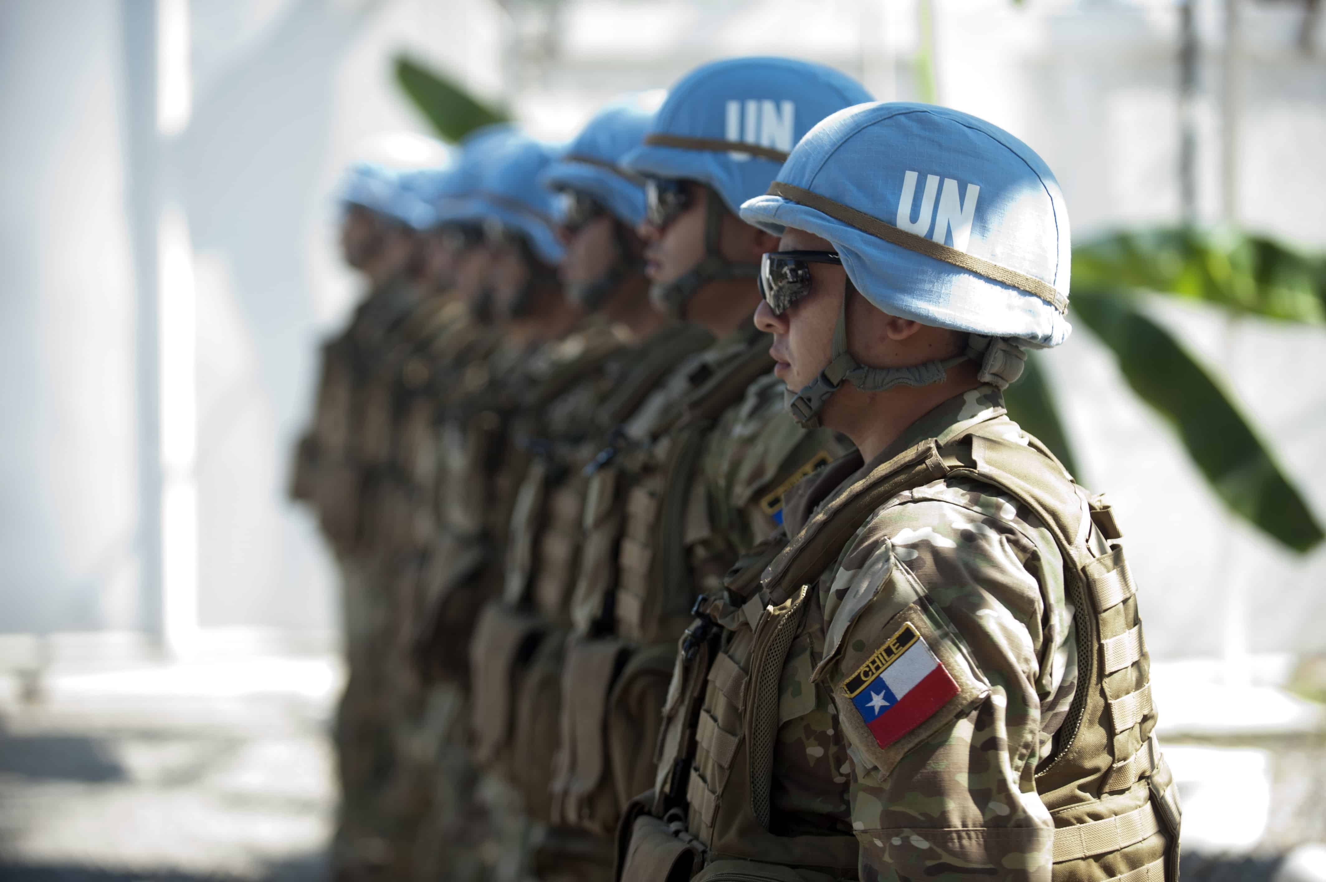 The United Nations Stabilization Mission in Haiti (MINUSTAH) in Cap-Haitien, Haiti.