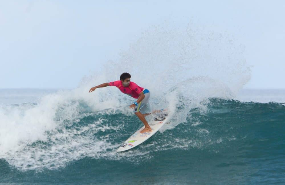 Jason Torres at COPA Nosara Beach Club.