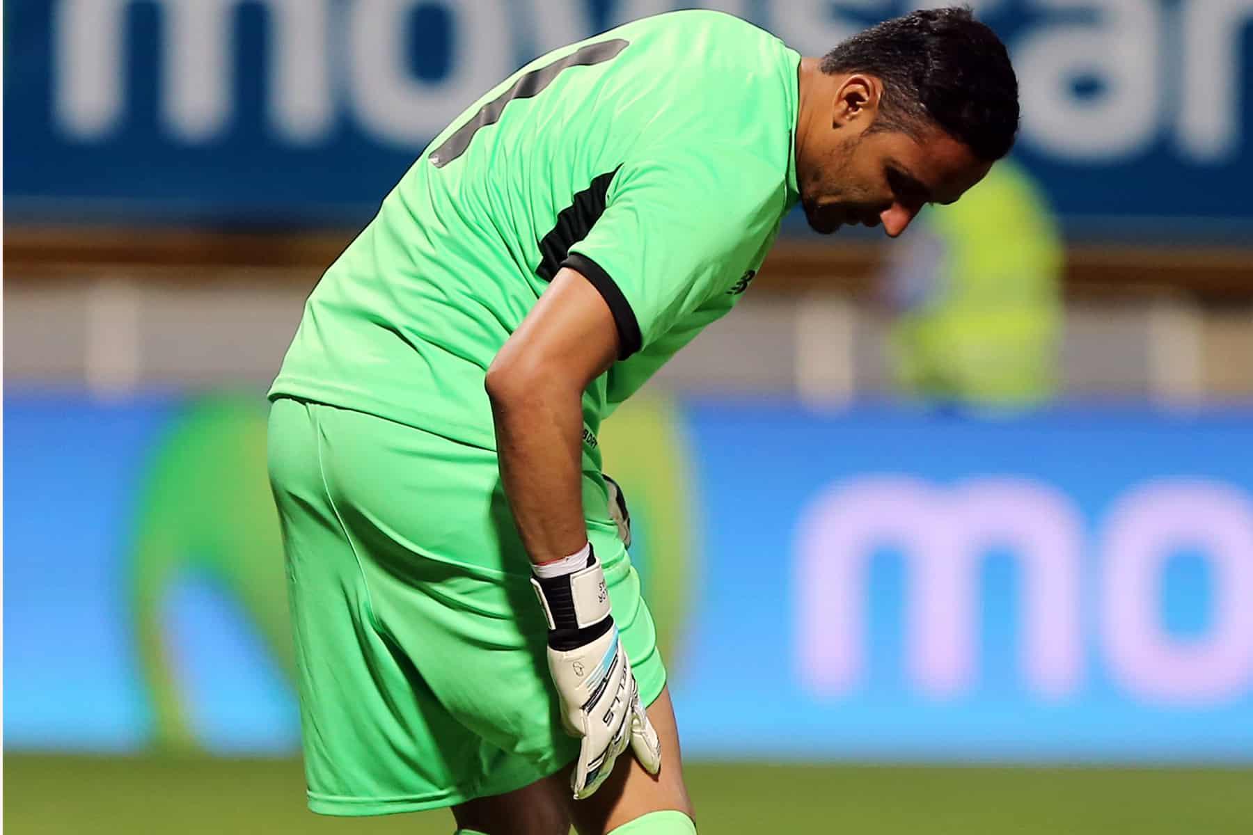 Costa Rica's goalkeeper Keylor Navas