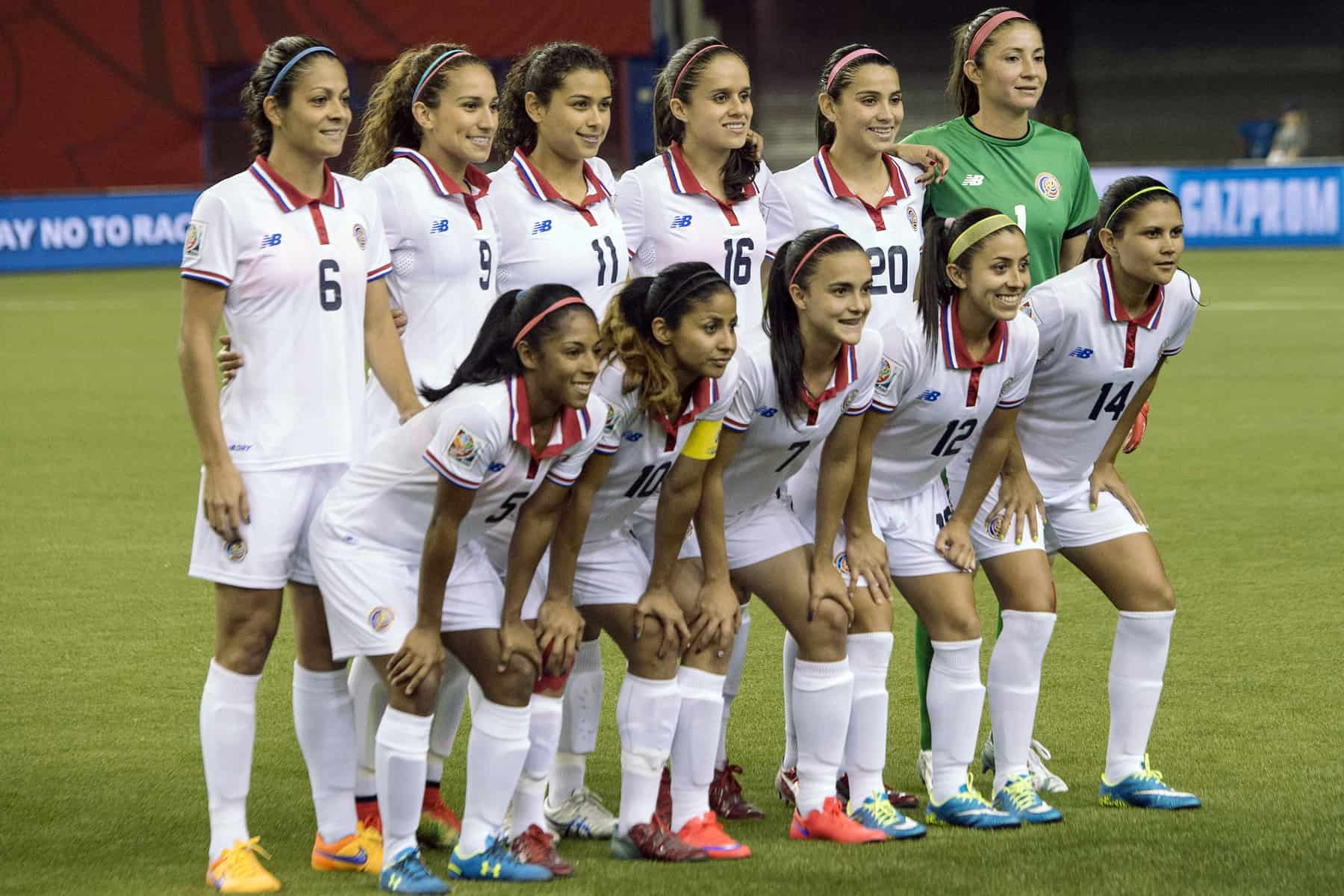 Costa Rica Women's National Team, June 2015