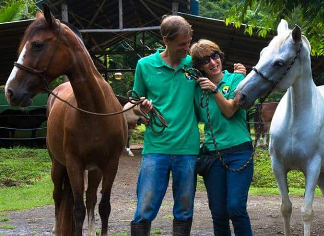 Chris and Andrea Wady, founders of Discovery Horseback Tours..
