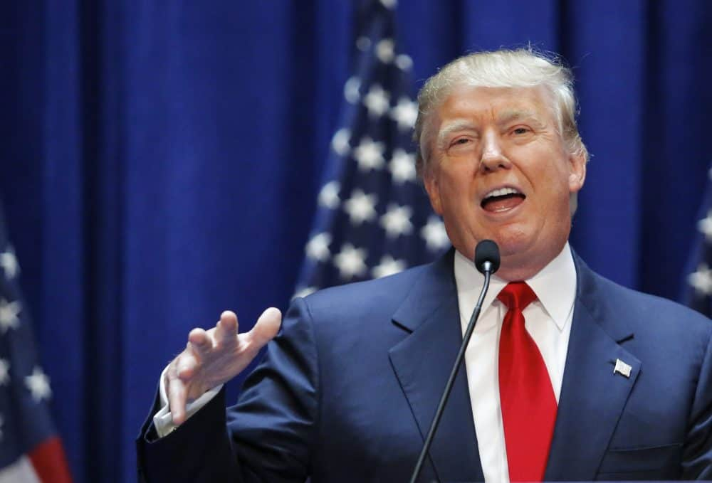 Real estate mogul Donald Trump announces his bid for the presidency.