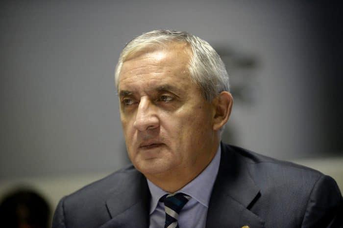 Guatemalan President Otto Pérez Molina.