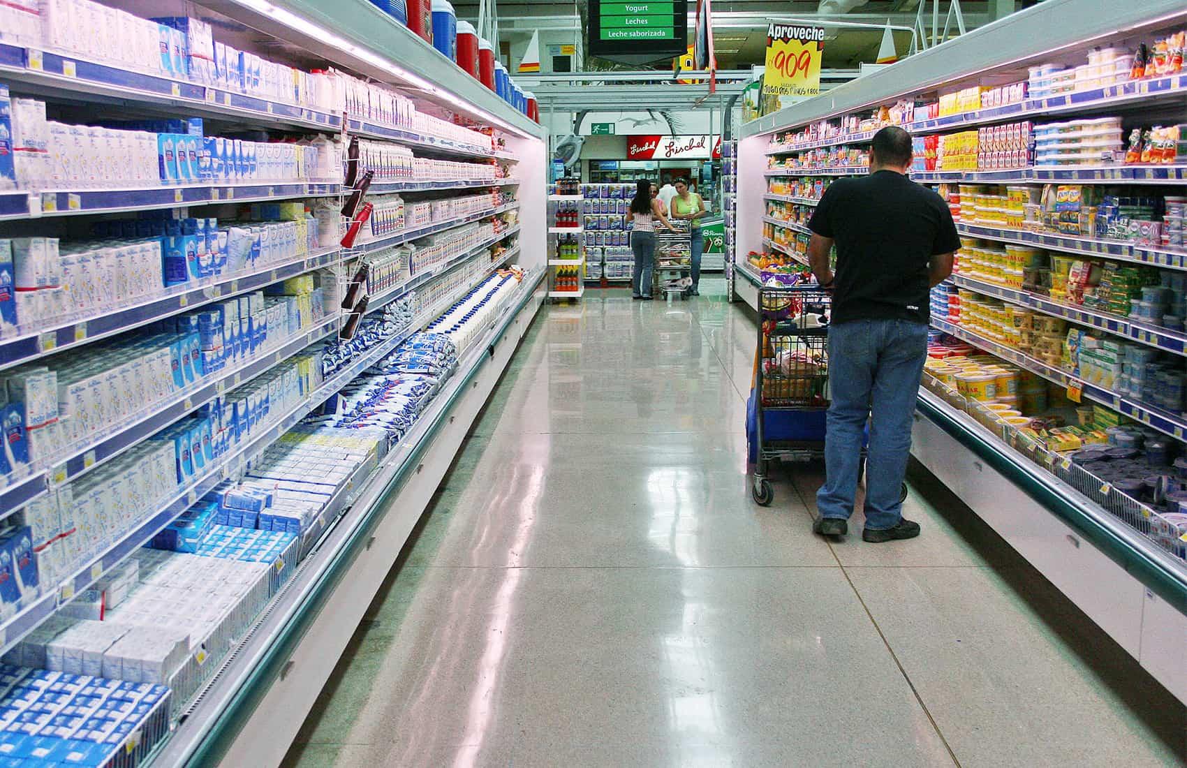 Super market shopping