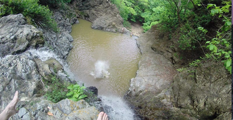 Splashdown.
