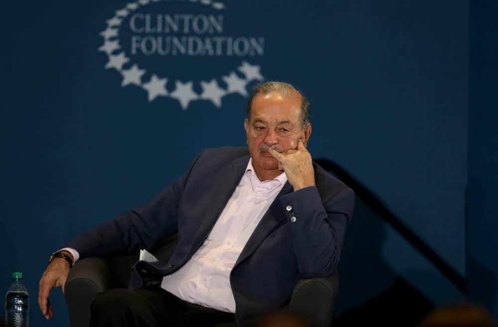 Mexico's telecom magnate Carlos Slim.