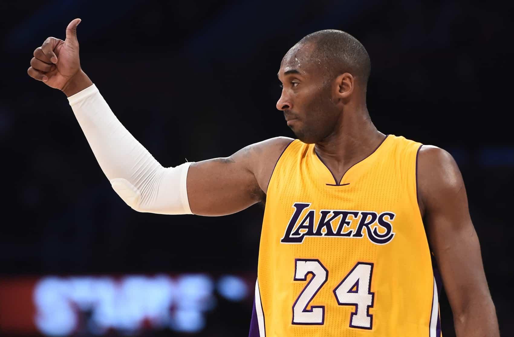 Kobe Bryant of the Los Angeles Lakers.