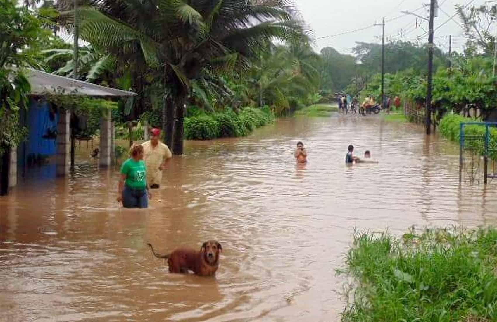 Floodings in Limón, June 22 2015