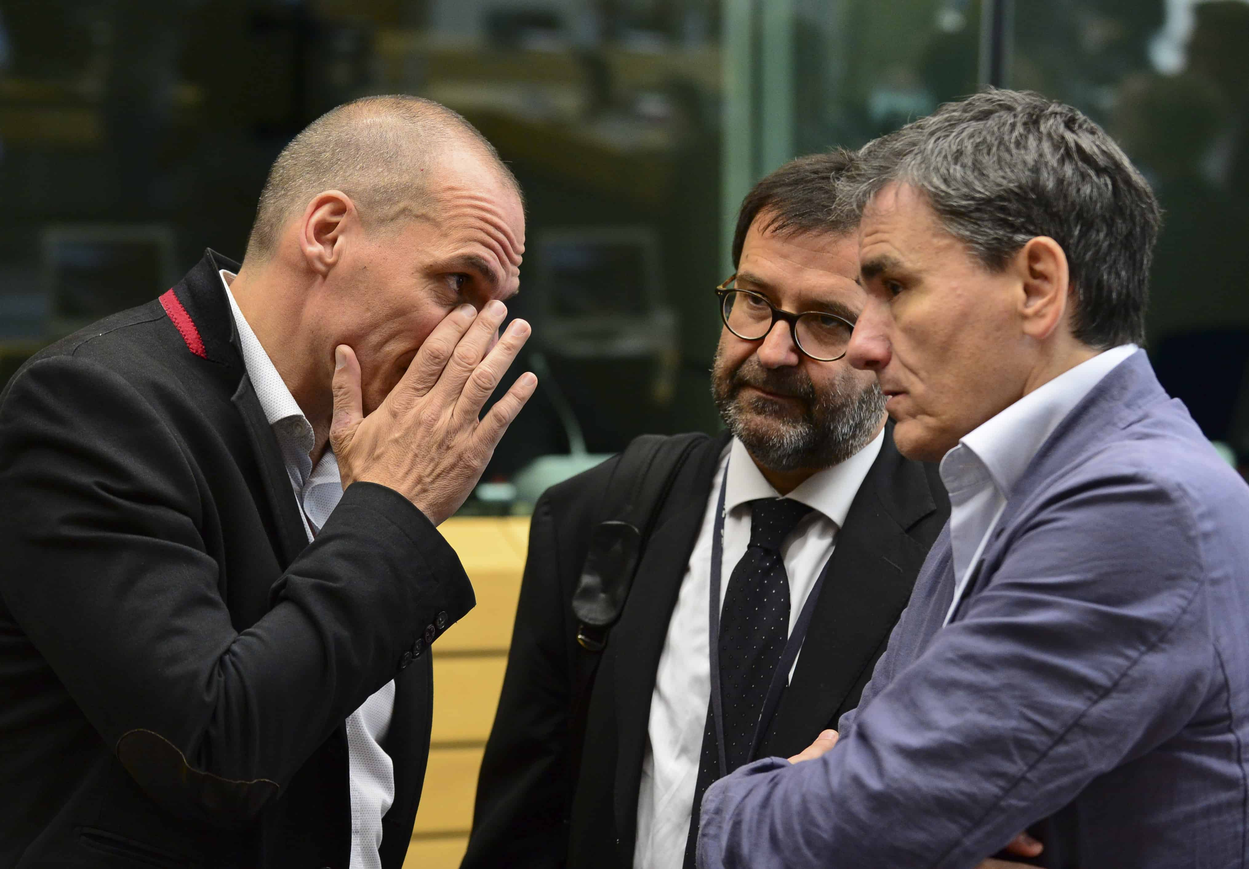 Greek Finance Minister Yanis Varoufakis.