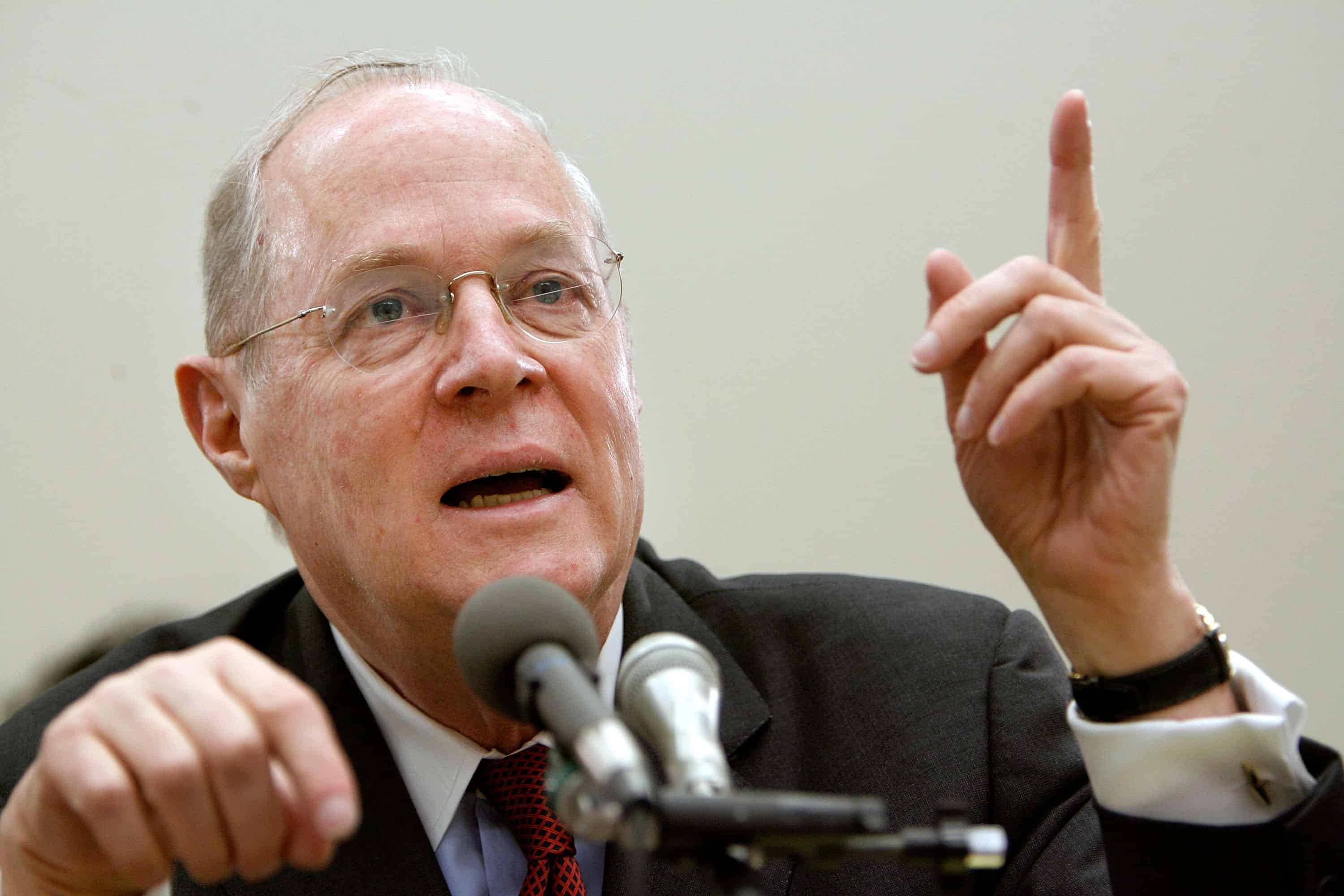 U.S. Supreme Court Justice Anthony Kennedy.