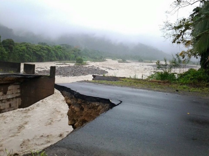 Major passes in the Caribbean have been destroyed due to the excessive water.
