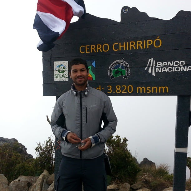 Costa Rican journalist Diego Arguedas Ortiz.