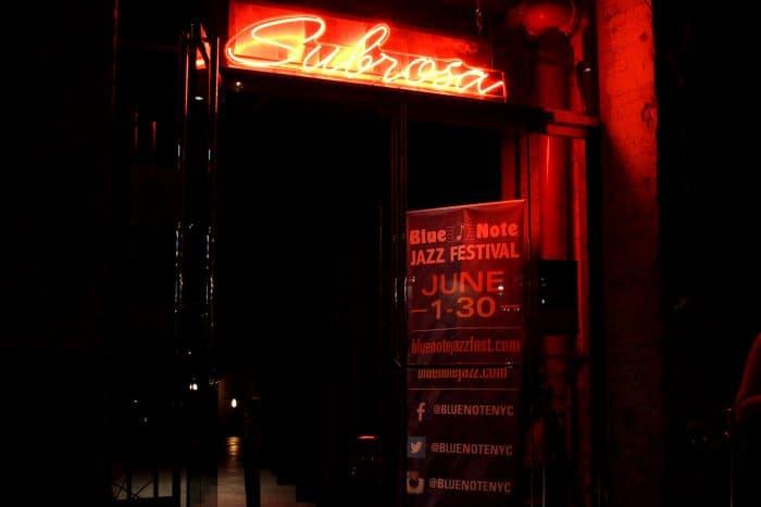 Subrosa, on Gansevoort Street, is a classy venue featuring brilliant Latin jazz.