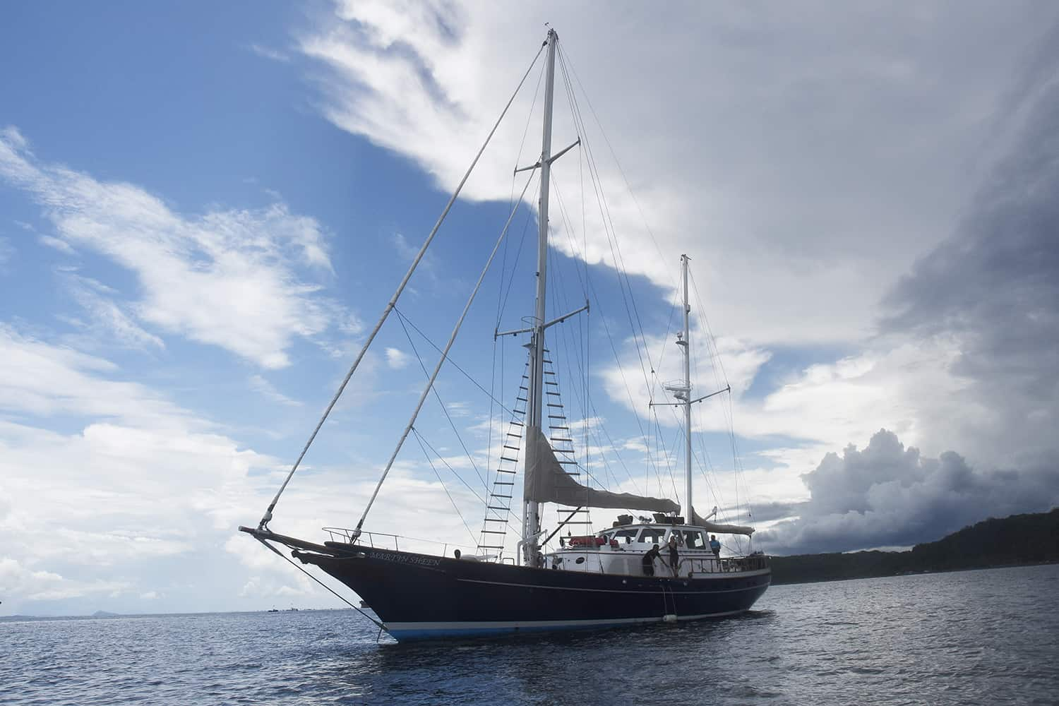 Sea Shepherd's R/V Martin Sheen.