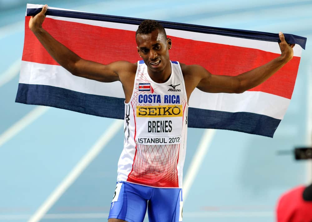 Costa Rican track star Nery Brenes, who was a gold medalist at the 2012 IAAF World Indoor Championships, will vie for a medal at the NACAC Championships that begin Aug 7 in San José.