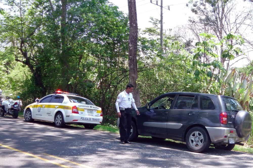 Traffic Police surveillance operation.