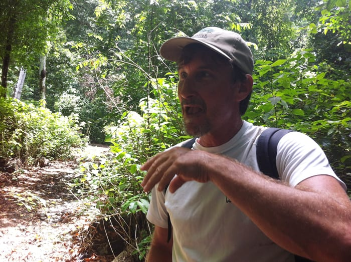 Little hungry? Andy Pruter of Everyday Adventures demonstrates how to eat termites.