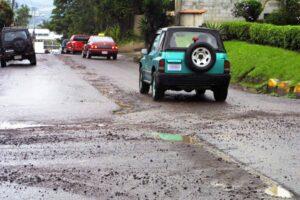 Roads' poor conditions