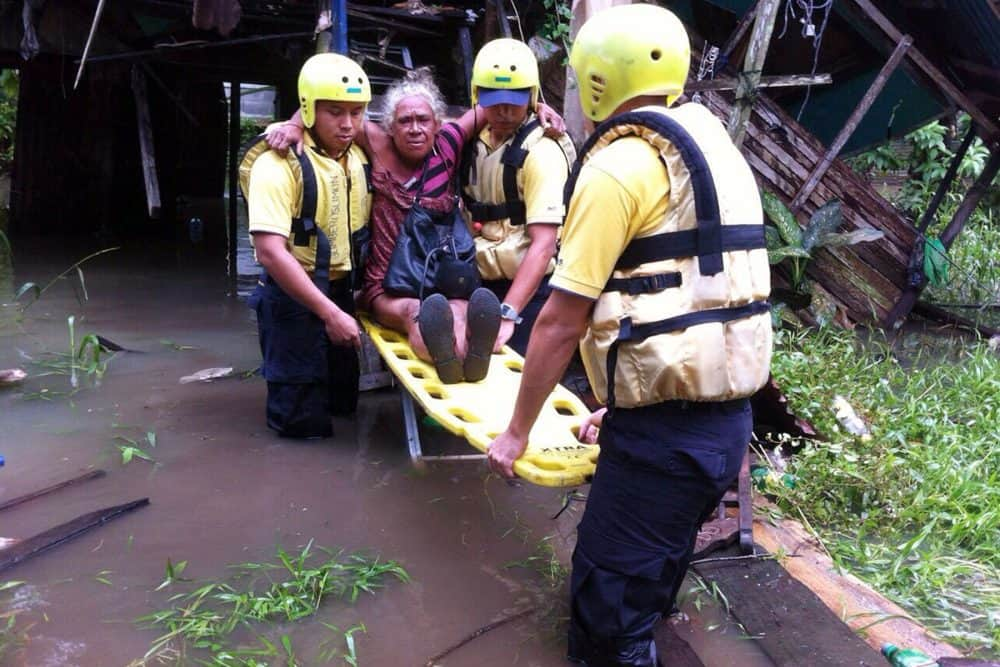 Evacuations at Limón, July 8 2015