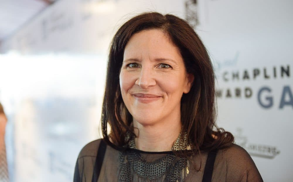 Laura Poitras at the 42nd Chaplin Award Gala at Alice Tully Hall, Lincoln Center on April 27, 2015 in New York City.