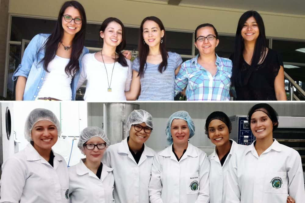 Winner students from UCR's Food Technology School