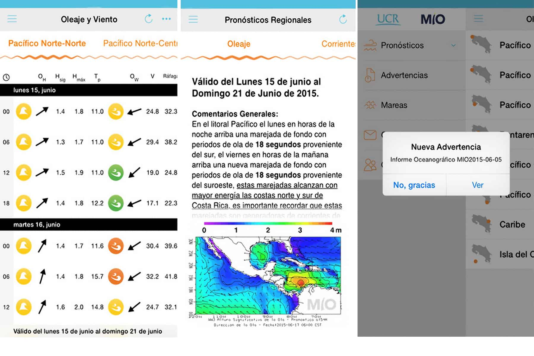 MIO-CIMAR app