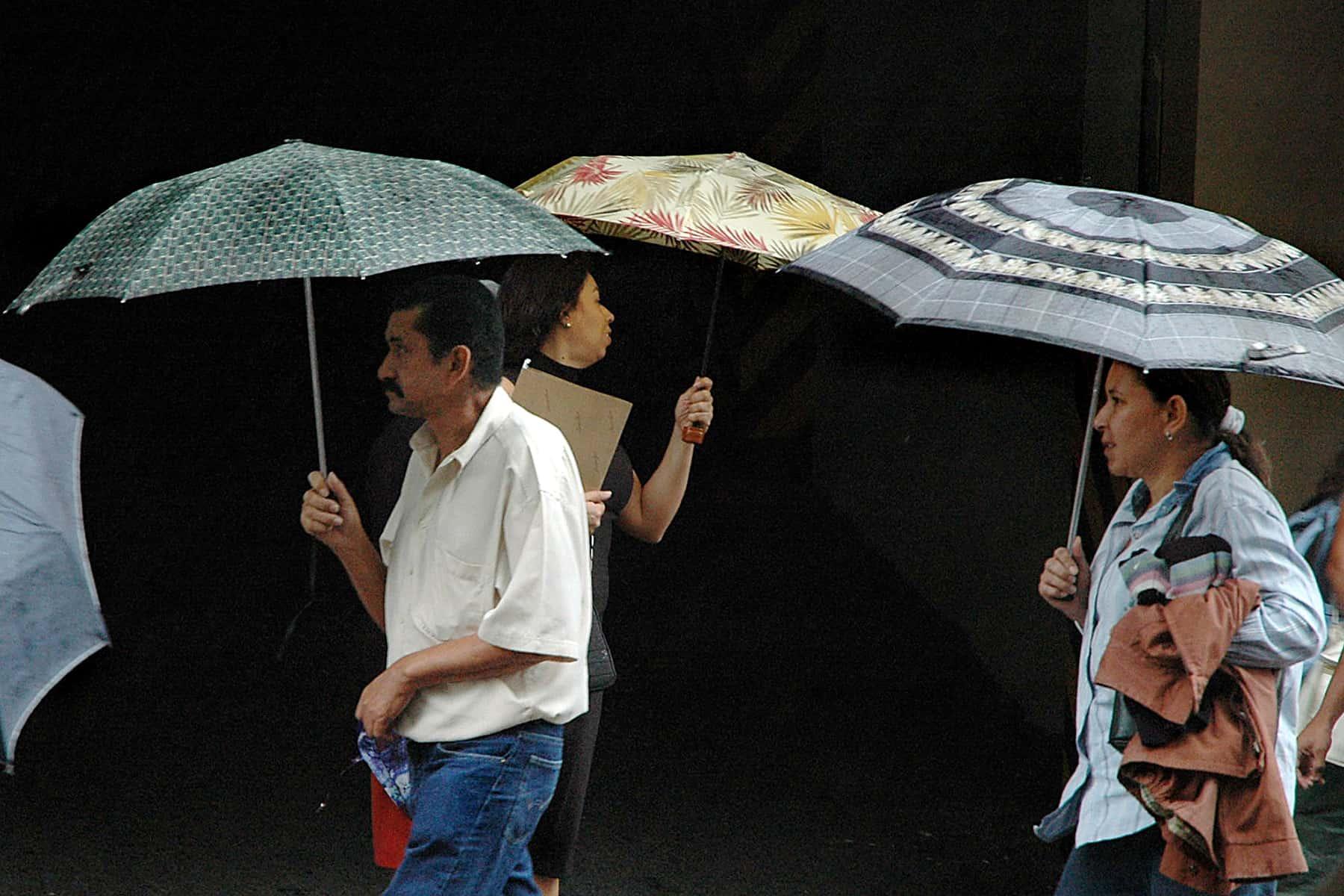 Rainy season in Costa Rica