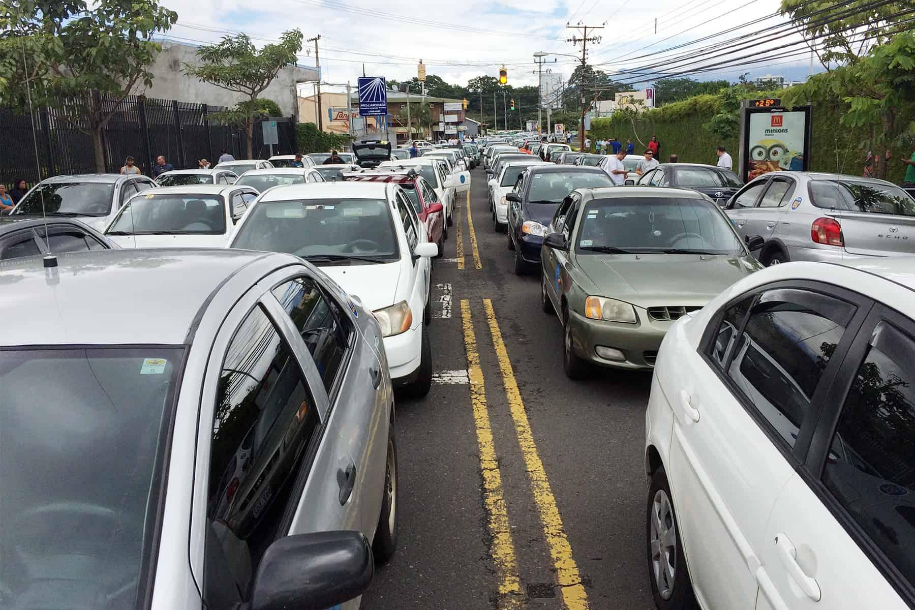 Porteadores blockades, July 8 2015