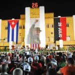 Cuba marks Castro uprising anniversary with call for US embargo end