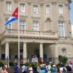 PHOTOS: Cuba, US reopen embassies to end 54-year estrangement