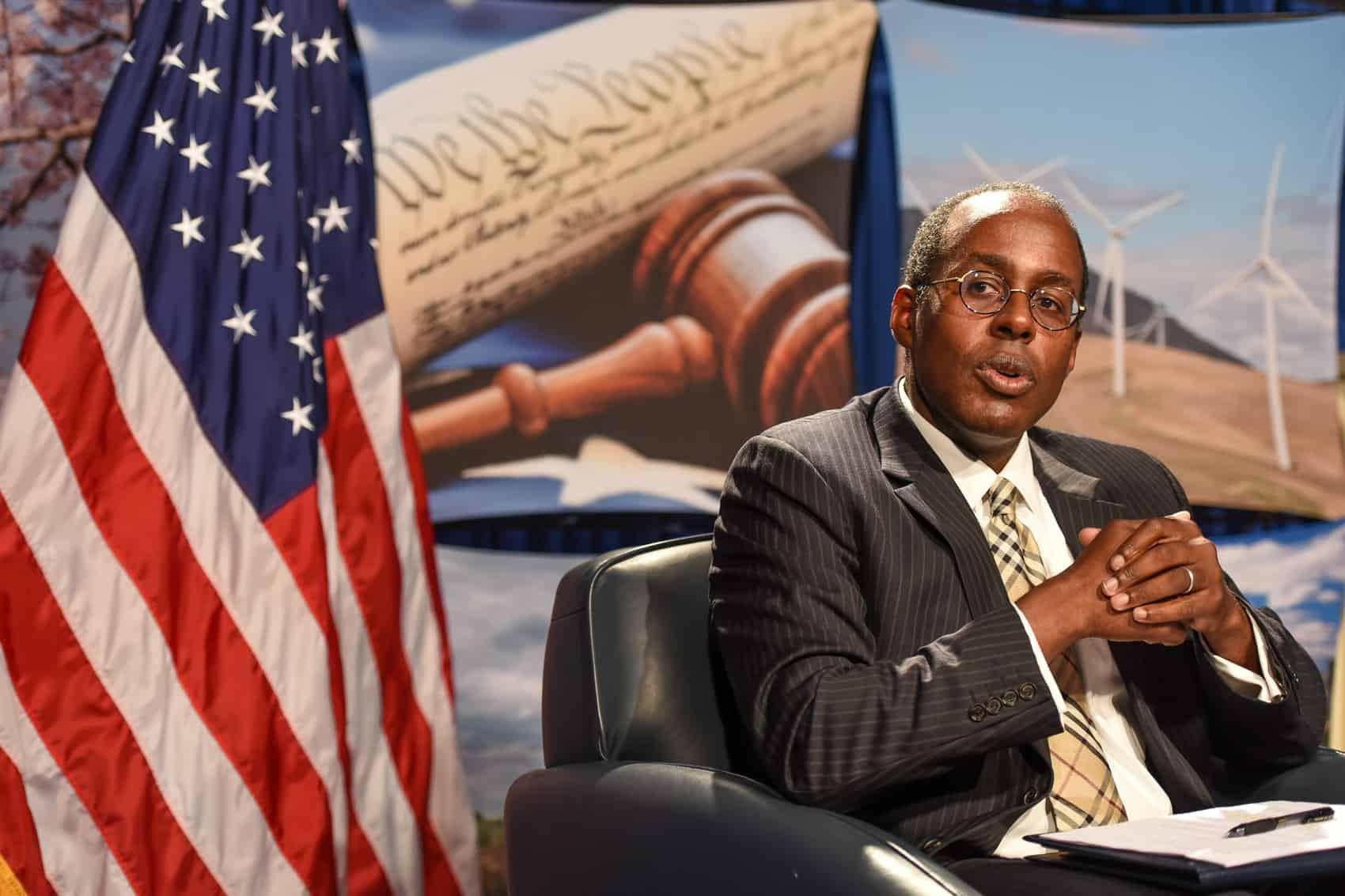 U.S. Ambassador to Costa Rica S. Fitzgerald Haney.
