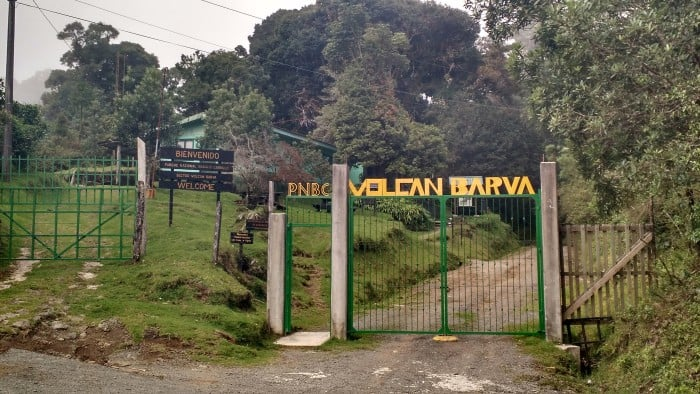 A long drive uphill dead ends to the entrance of Barva Volcano, one of Costa Rica's most overlooked destinations.