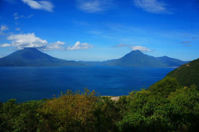 Lake Atitlan is the deepest lake in Central America.