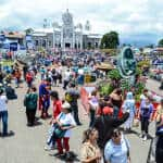 Traditional pilgrimage, Artisans' Fair and other happenings around Costa Rica