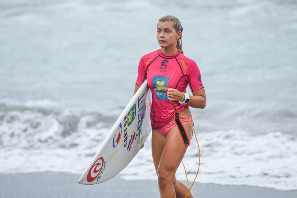 Leilani McGonagle, 15, makes up part of Costa Rica's golden generation of surfers.