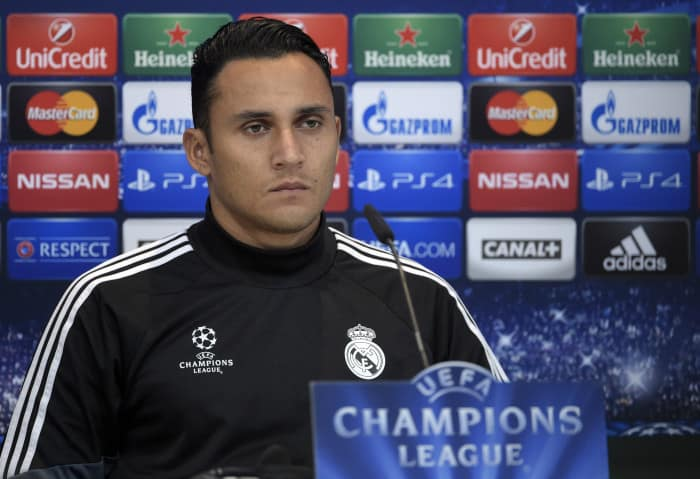 On second thought: Keylor Navas will remain at Real Madrid after the club botches the deal Monday on transfer deadline day.