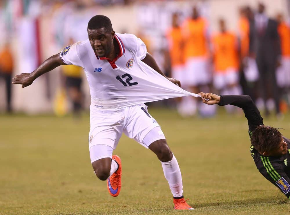 Joel Campbell and Costa Rica head back to New Jersey to play Brazil after their heartbreaking CONCACAF Gold Cup loss to Mexico on July 19 in East Rutherford.