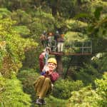 How the jungle canopy zipline was invented in Costa Rica, and then became very big business