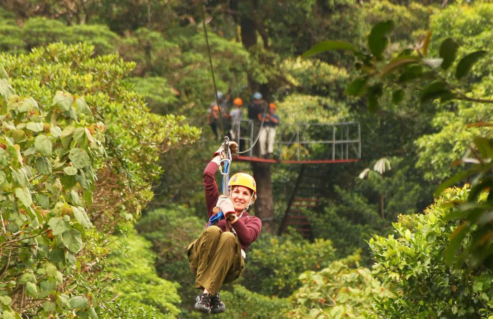 Strap on your helmet The tale of ziplining in Costa Rica is a fascinating one. (Ronald Reyes/The Tico Times) & How the jungle canopy zipline was invented in Costa Rica and then ...