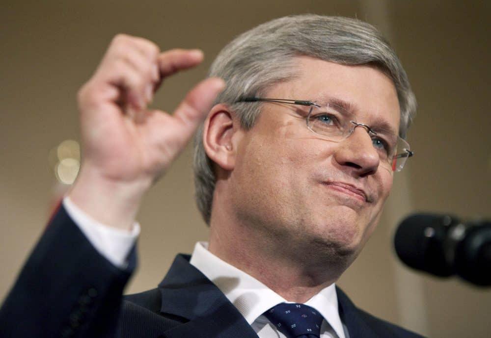 Canadian Prime Minister Stephen Harper.