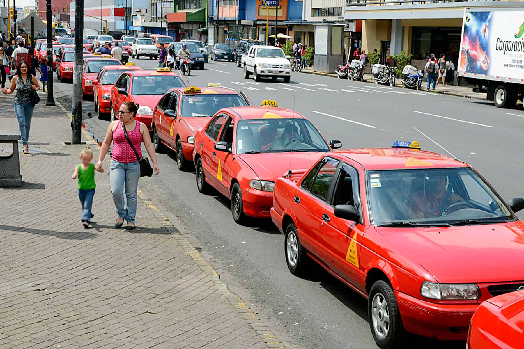 Taxis Costa Rica, in San José