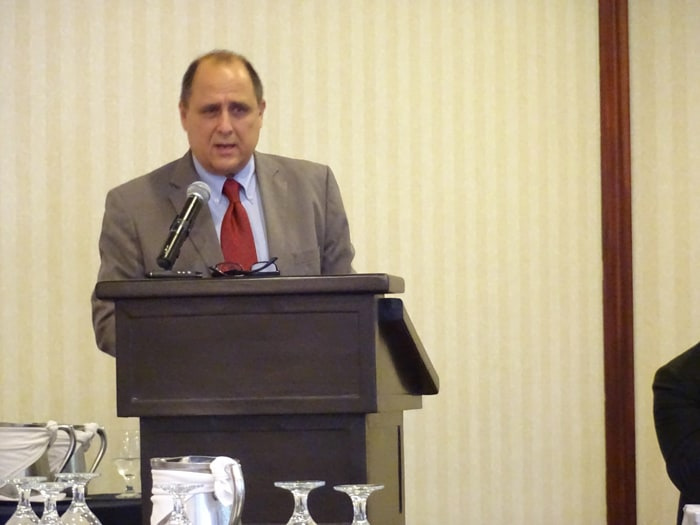 Alfredo Echeverría, director of the Epicurean Gastronomy Club.