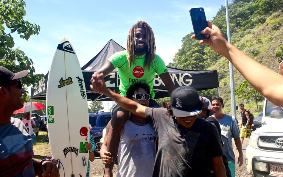 Surfer Gilbert Brown.
