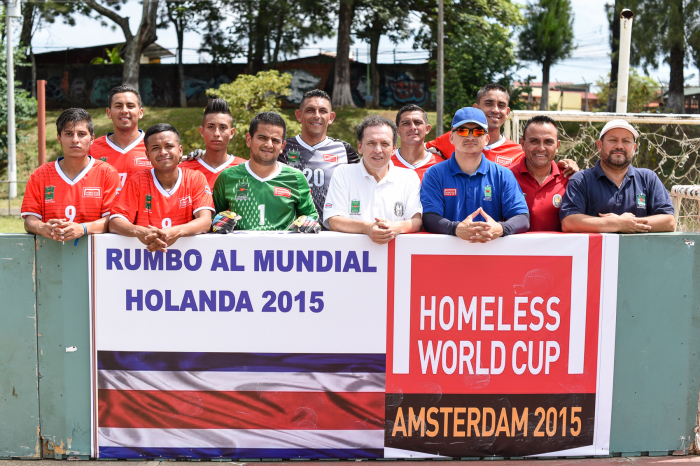 The trip to Holland will mark the seventh time Costa Rica has participated in the Homeless World Cup.