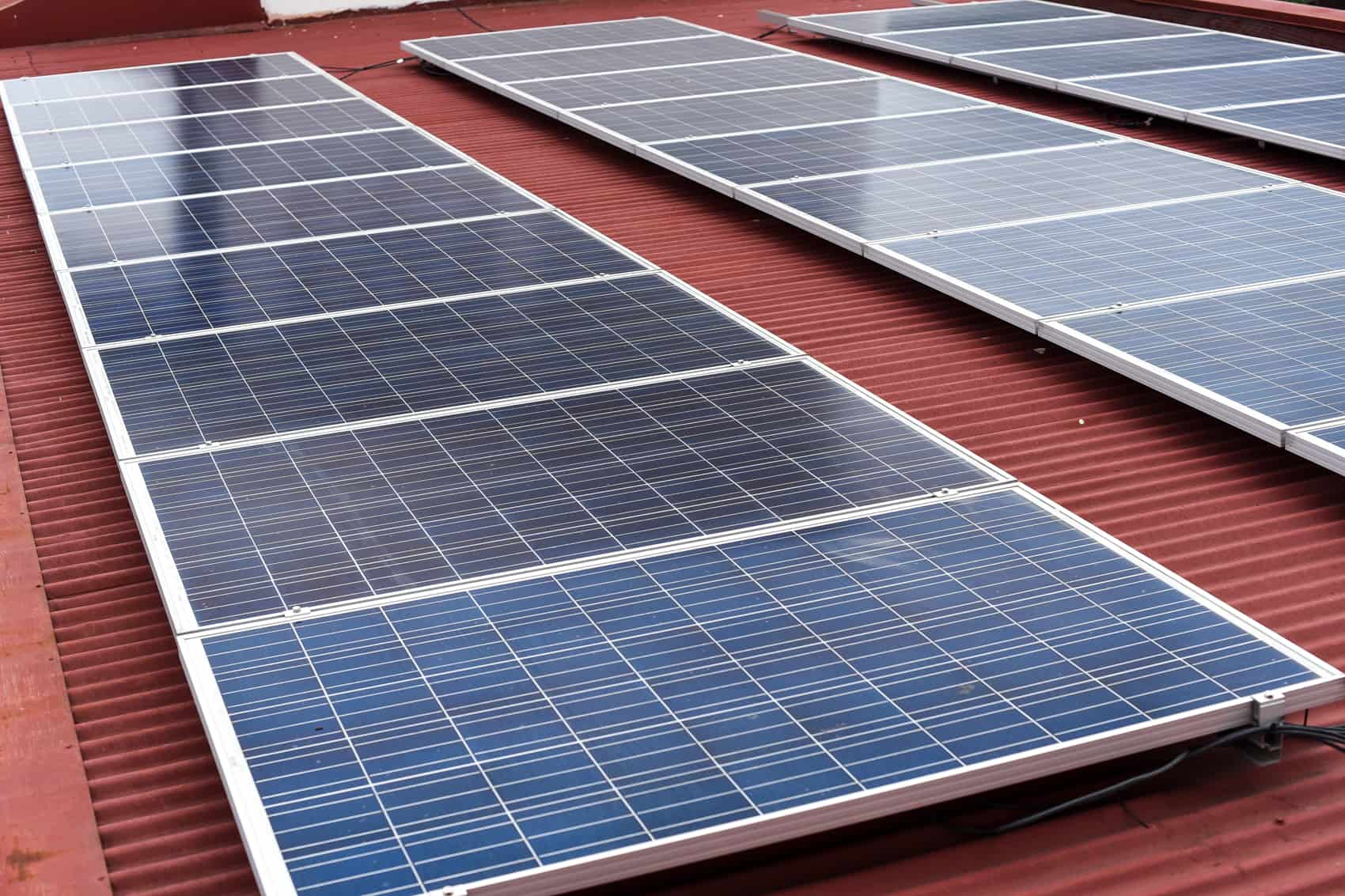Costa Rica solar panels.
