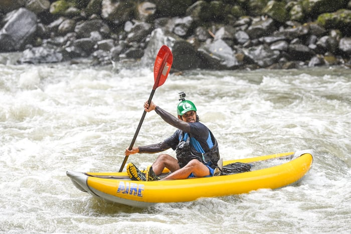 Luis Sánchez Hernández, better known as Luigi, has been a rafting guide for 14 years.
